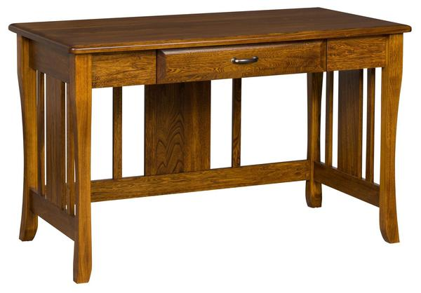 Amish Berkley Writing Desk with One Drawer - Quick Ship