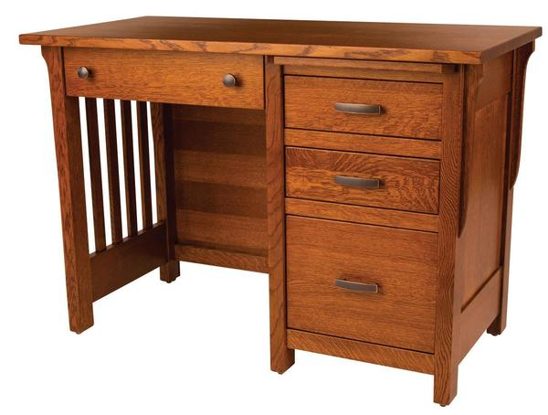 Amish Boston Mission Student Desk - Quick Ship