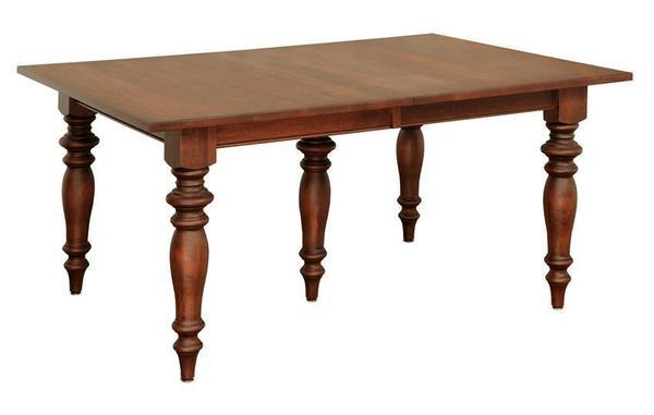 Amish Oceanside Dining Room Leg Table