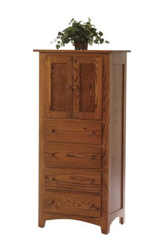 Amish Lockwood Shaker Armoire