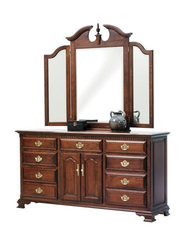 "Amish Victoria's Tradition 72"" Dresser"