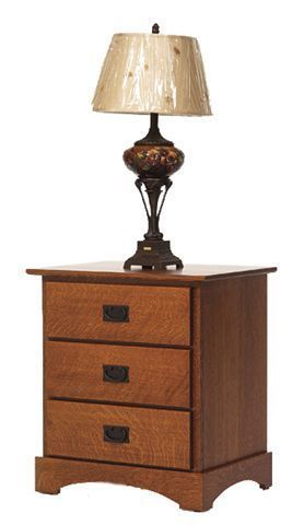 Amish Old English Mission Night Stand
