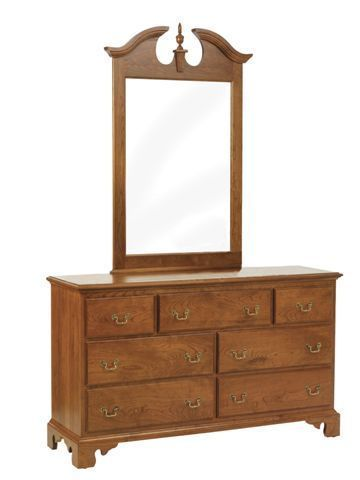 "Amish Elegant River Bend 56"" Dresser"
