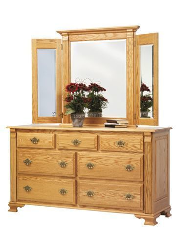 "Amish Journey's End 66"" Dresser"