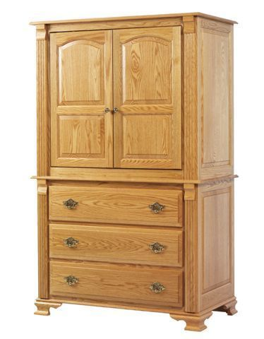 Amish Journey's End Entertainment Armoire