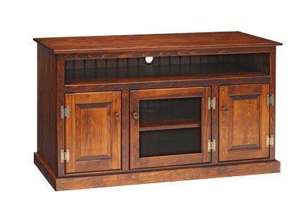 Amish Pine Wood TV Stand