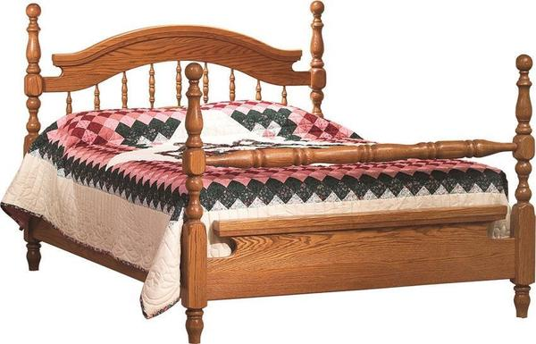 Amish Deluxe Spindle Bed
