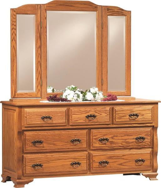 "Amish Deluxe 60"" Dresser"
