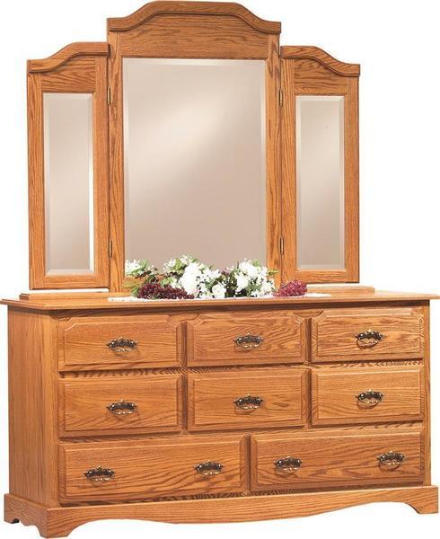 """Amish Summit 62"""" Dresser"""