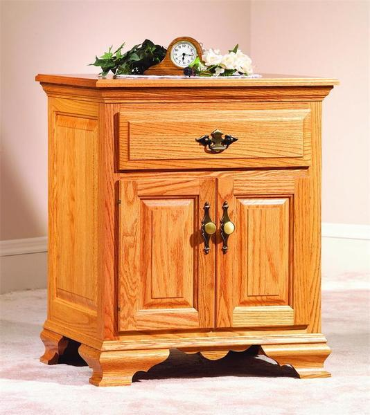 Amish Wrap Around Night Stand