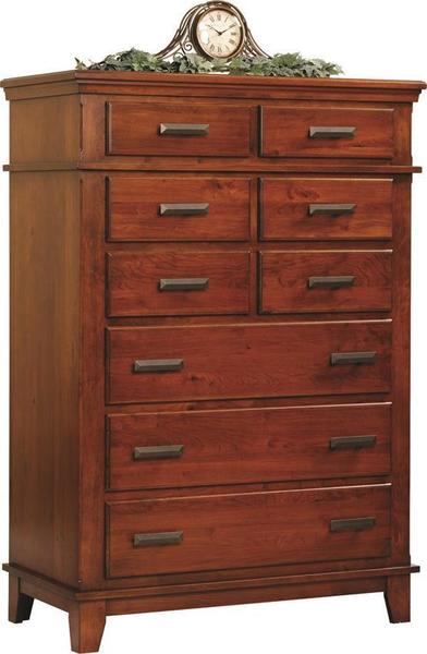 Amish Monterey Shaker Chest of Drawers