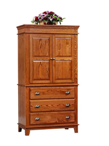 Monterey Shaker Armoire from DutchCrafters Amish Furniture