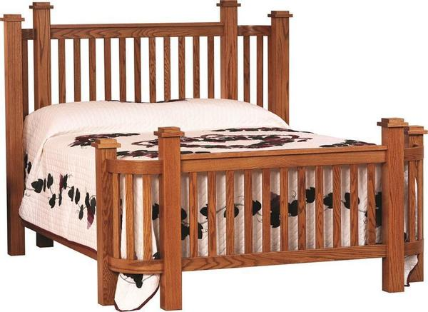Amish Mission Deluxe Wrap Bed