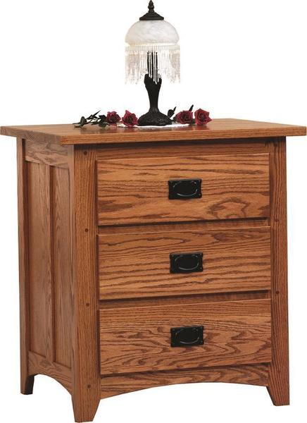 Amish Mission Deluxe Night Stand