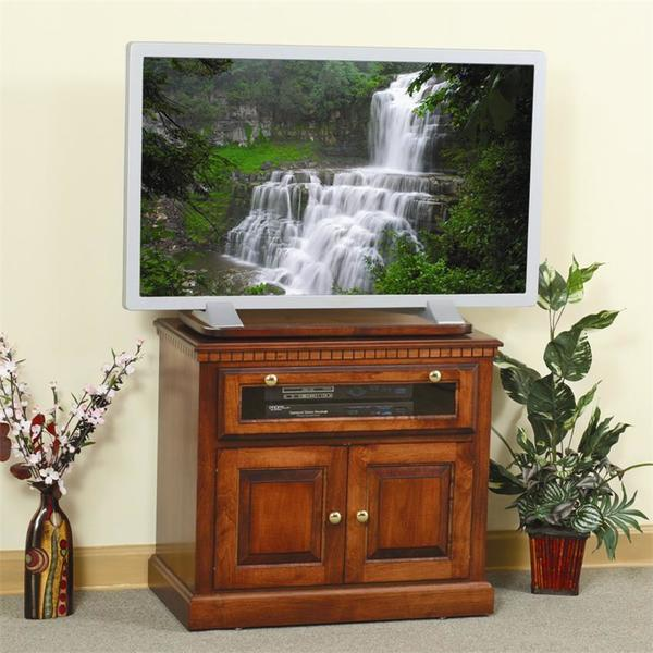 Amish Traditional Square TV Stand