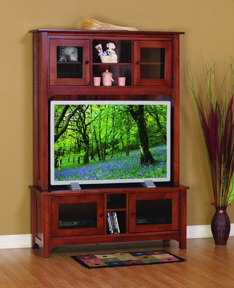 Amish Shaker Laurel Cove Entertainment Center