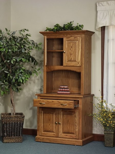 Amish Highland Short Door Bookcase