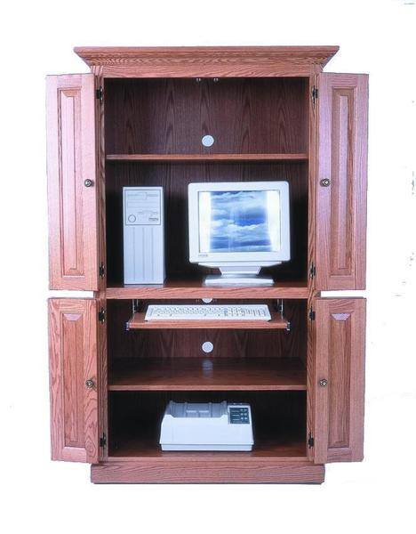 Computer Armoire Desk from DutchCrafters Amish Furniture