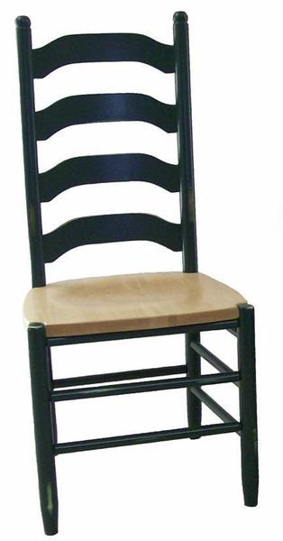 Amish La Fleur Ladderback Dining Chair