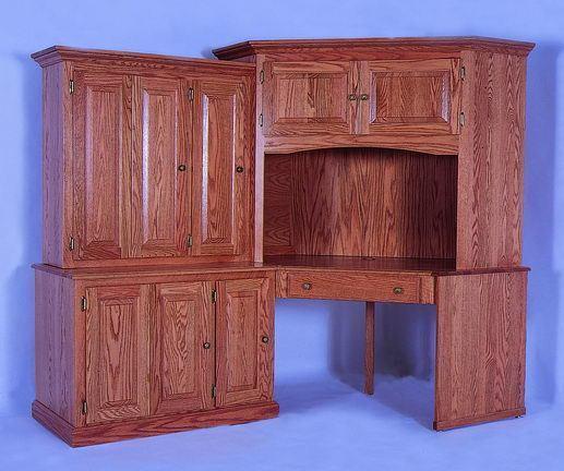 Amish Corner Computer Desk