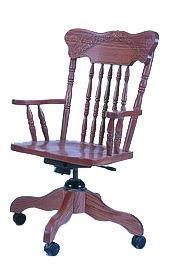 Amish Ohio Spring Meadow Desk Chair