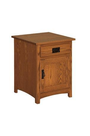 Amish Family Mission End Table