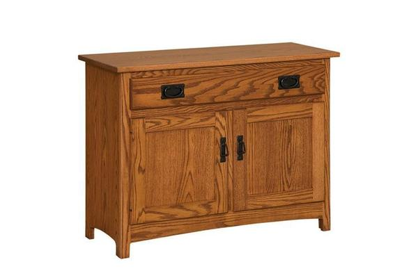 Amish Mission Hall Console Table