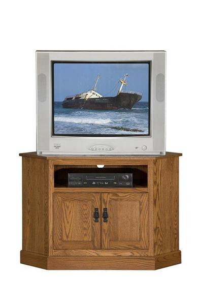 "Amish 44"" Country Mission Corner TV Stand"