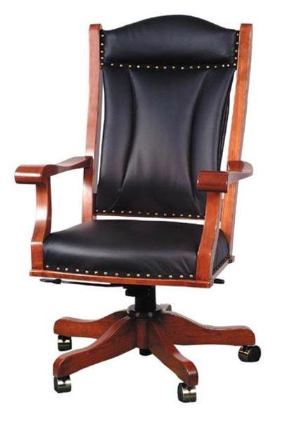 Amish Berlin Executive Desk Chair