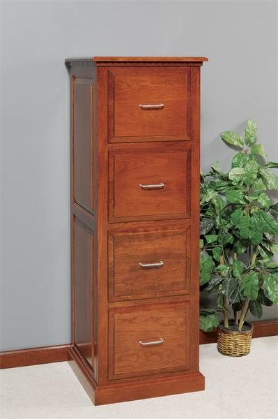 Amish Traditional File Cabinet