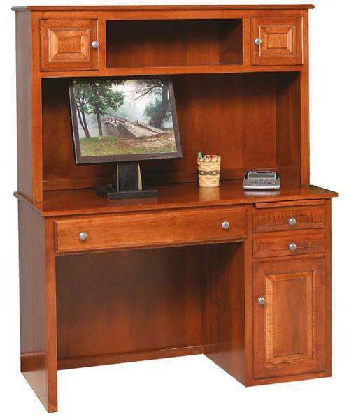 Amish Student Desk with Hutch Top
