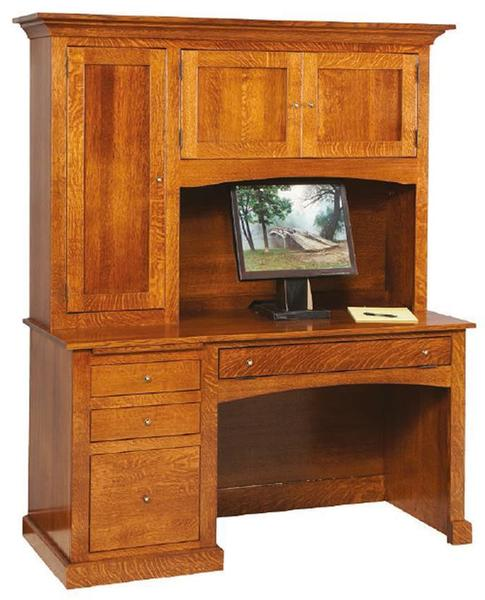 Amish Vintage Mission Computer Desk