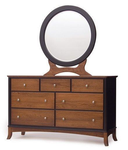 Amish Contempo Modern Double Dresser
