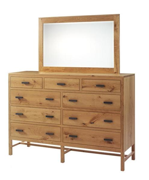 "Amish Lynnwood 66"" High Dresser"