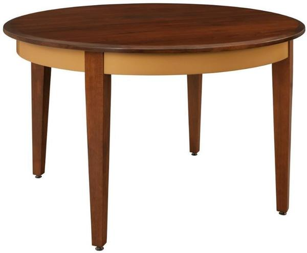 Keystone westfield solid top dining table from dutchcrafters amish for Table westfield