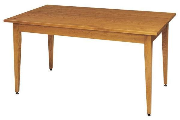 Classic Shaker Solid Top Dining Room Table by Keystone