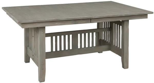 Mission Trestle Dining Table by Keystone