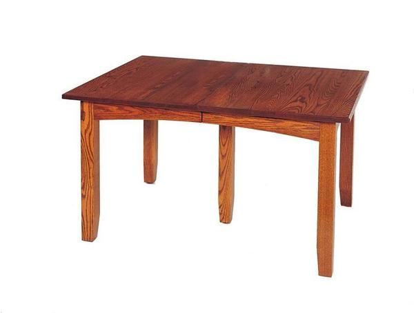 Mission Extension Dining Table by Keystone