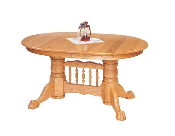 Lancaster Pedestal Dining Table by Keystone