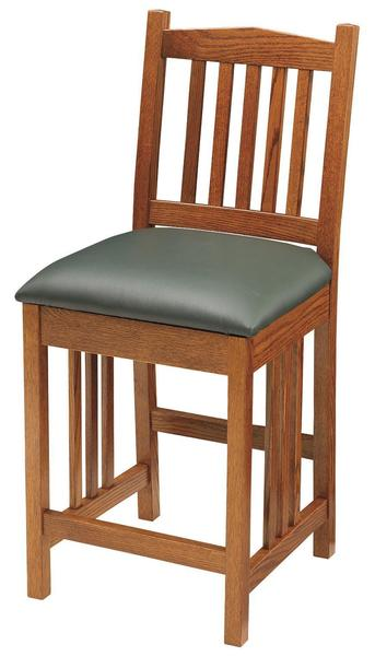 Mission Barstool by Keystone Collection