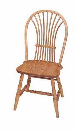 Wheat Back Windsor Dining Chair by Keystone