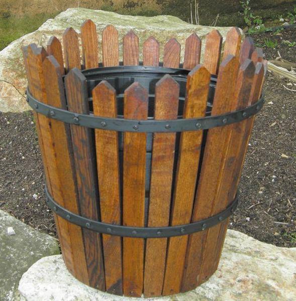 Amish Round Flower Planter -