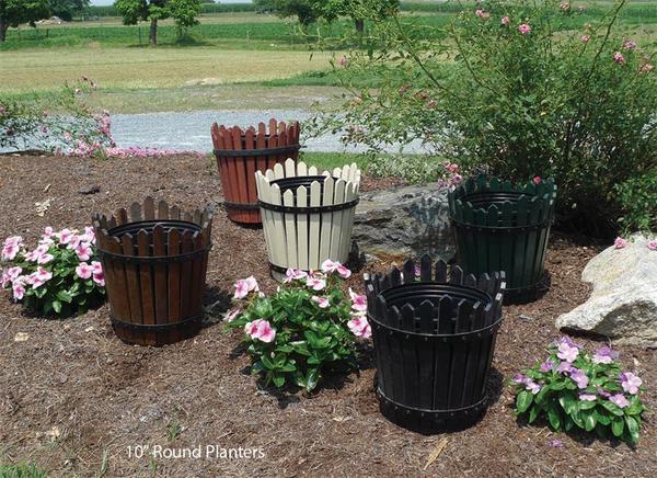 Round Flower Planter