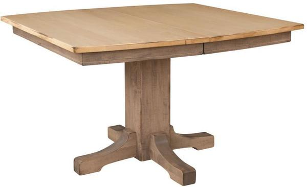 Frederick Single Pedestal Dining Table by Keystone Collection
