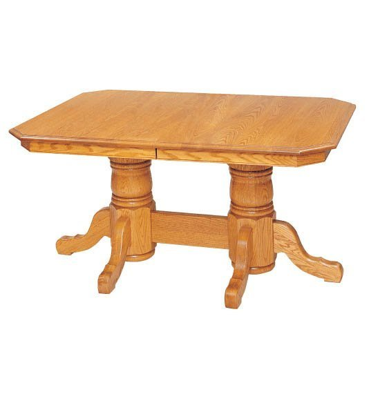 Heidelberg Double Pedestal Dining Room Table by Keystone