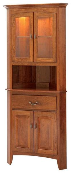 "Manchester 25"" Corner Hutch by Keystone Collection"