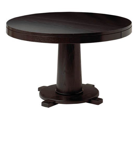 Montclair Pedestal Extenson Dining Table by Keystone