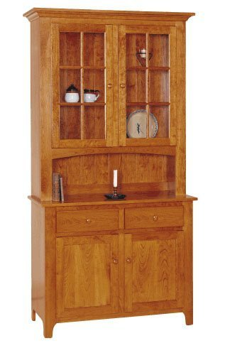 Shaker Style Buffet and Hutch by Keystone Collection