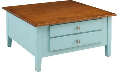 Shaker Square Coffee Table by Keystone