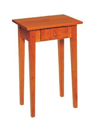 Shaker Candle Stand End Table by Keystone